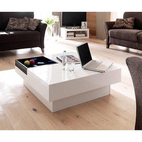 Mesas De Centro Diseño Minimalista Ref: Teena (80X80X34)