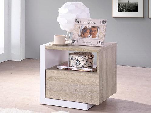 Mesa de noche diseño moderno Ref:Tista (50X50X40)