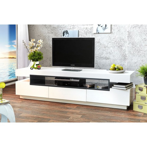 mesa de television diseño moderno ref: livo | anju mesas de tv ... - Muebles De Diseno Para Tv