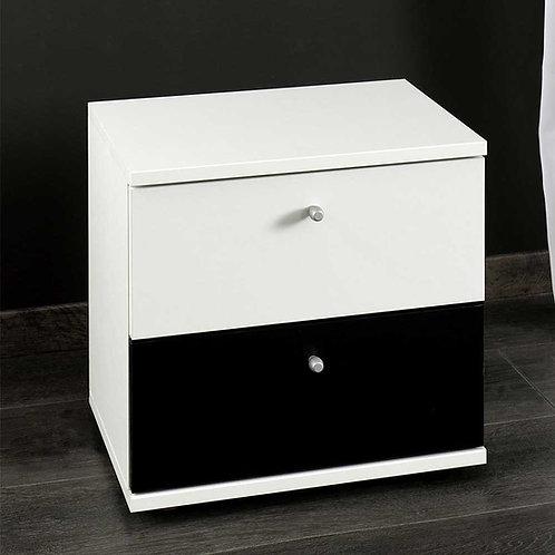 Mesa de noche diseño moderno Ref: Catryna (45X35X50)
