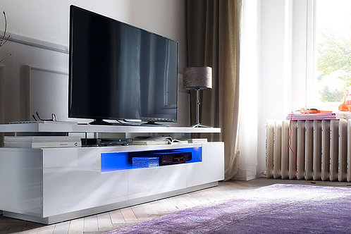 Mesa de TV Diseño Ultra Moderno con iluminacion Ref: Jaspe (200x40x56)
