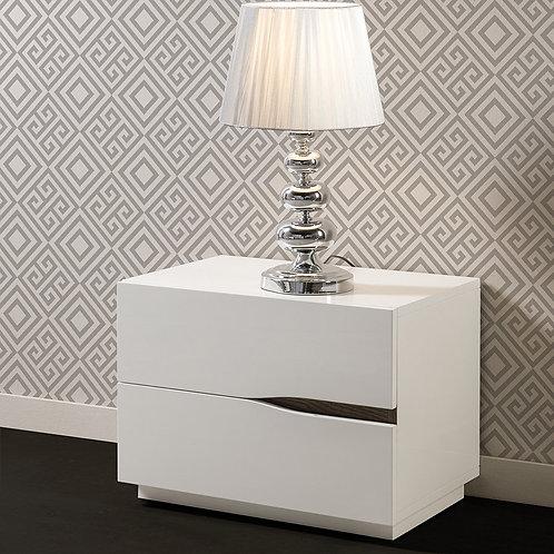 Mesa de Noche Diseño Moderno Ref: Haya (60X40X50)