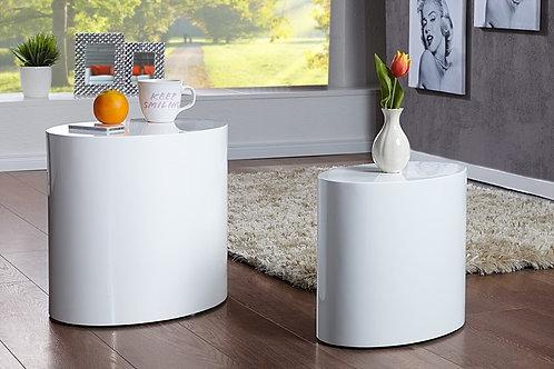 Mesa Auxiliar Diseño moderno minimalista  Ref: Torno (55/40X35/25X40X/35)