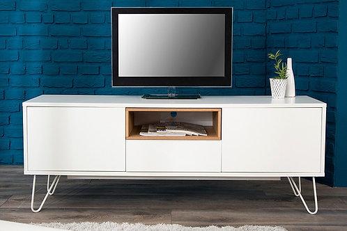 Mesa De Televisión Moderna nicho en Madera Roble Ref: Turina (160X40X60)