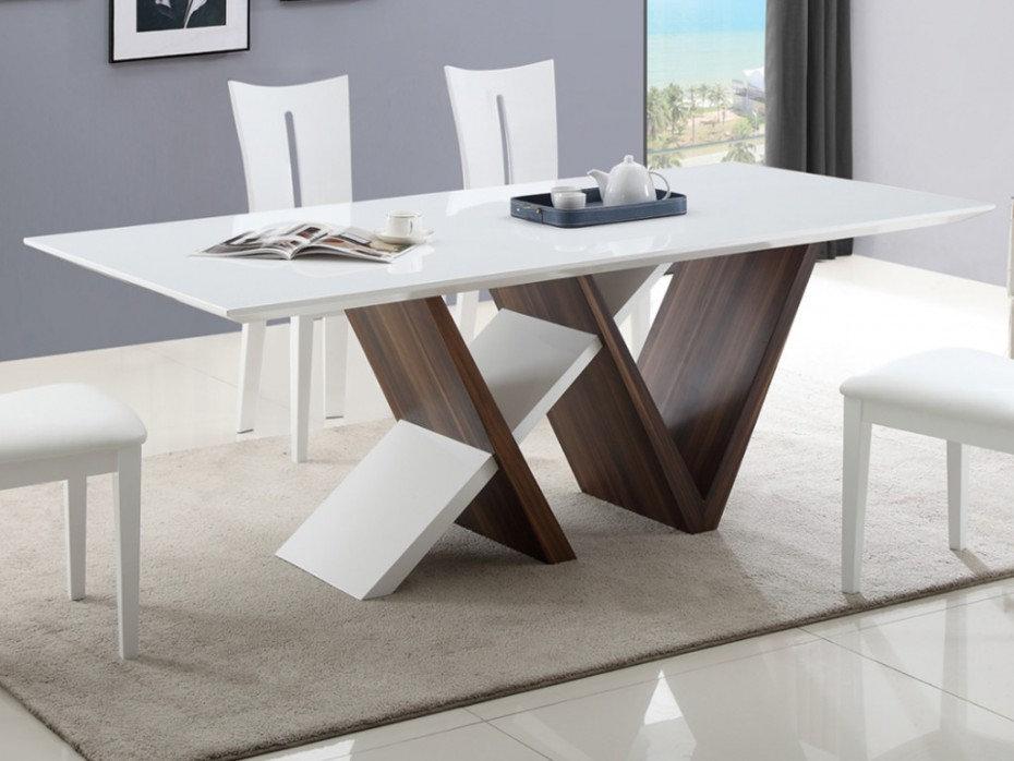 Mesa de Comedor Diseño Moderno Ref: Amelie (160x90x78)