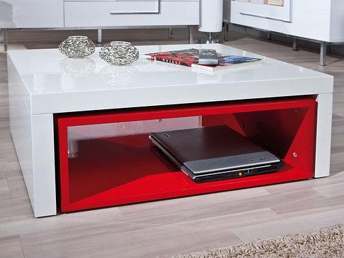 Mesa De Centro Diseño Minimalista Ref: Red  (90x50x34)