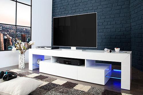 Mesa de TV Diseño Ultra Moderno con iluminacion Ref: Perlato (180x40x50)