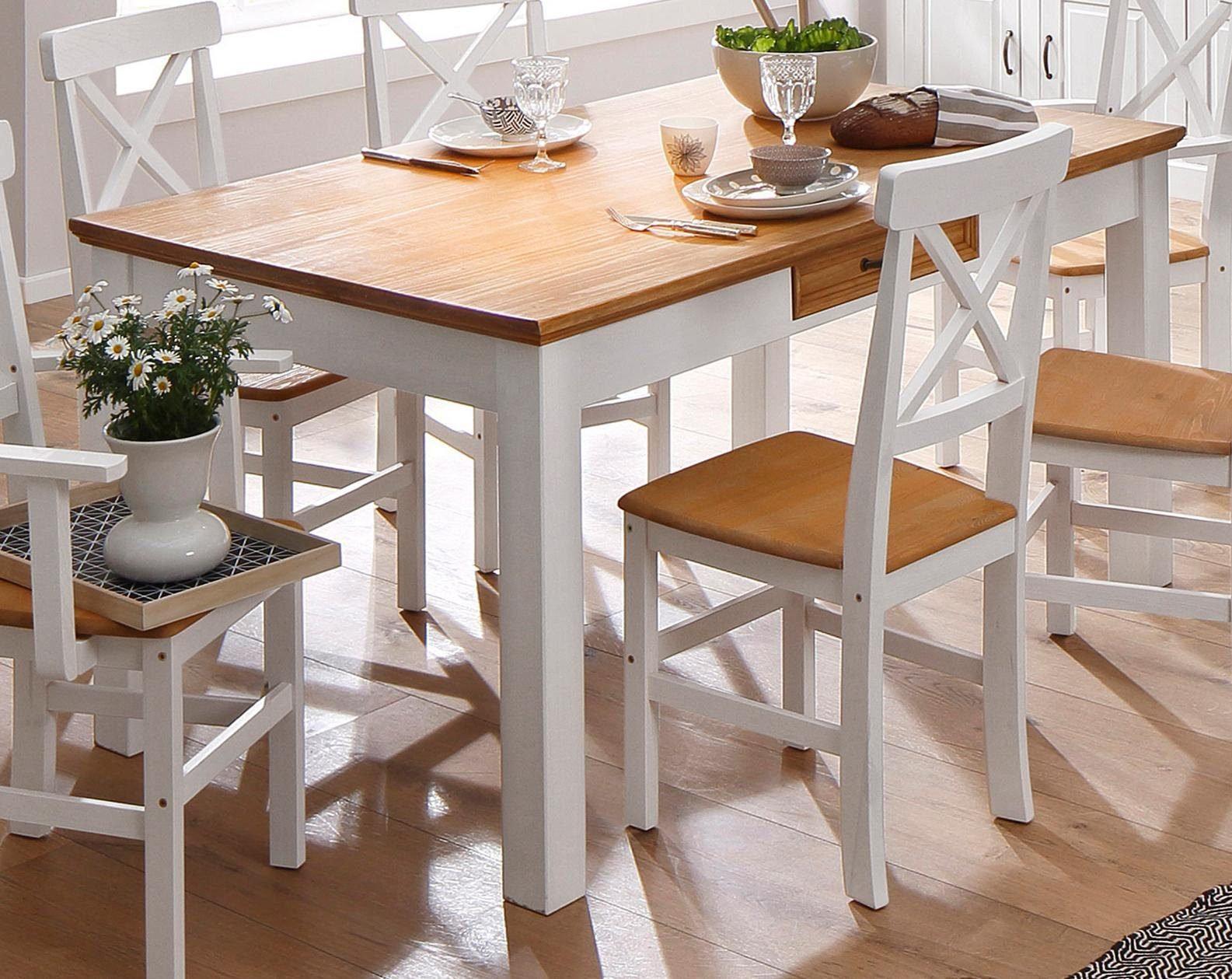 Mesa de Comedor diseño Vintage Ref: Naomi (160x90x78)