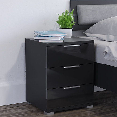 Mesa de noche diseño moderno Ref: Paraiba (46X42X60.5)