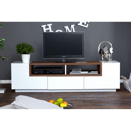 Mesa De Television Moderna En Madera Ref Bossely 170x40x50 - Mesas-para-tv-modernas