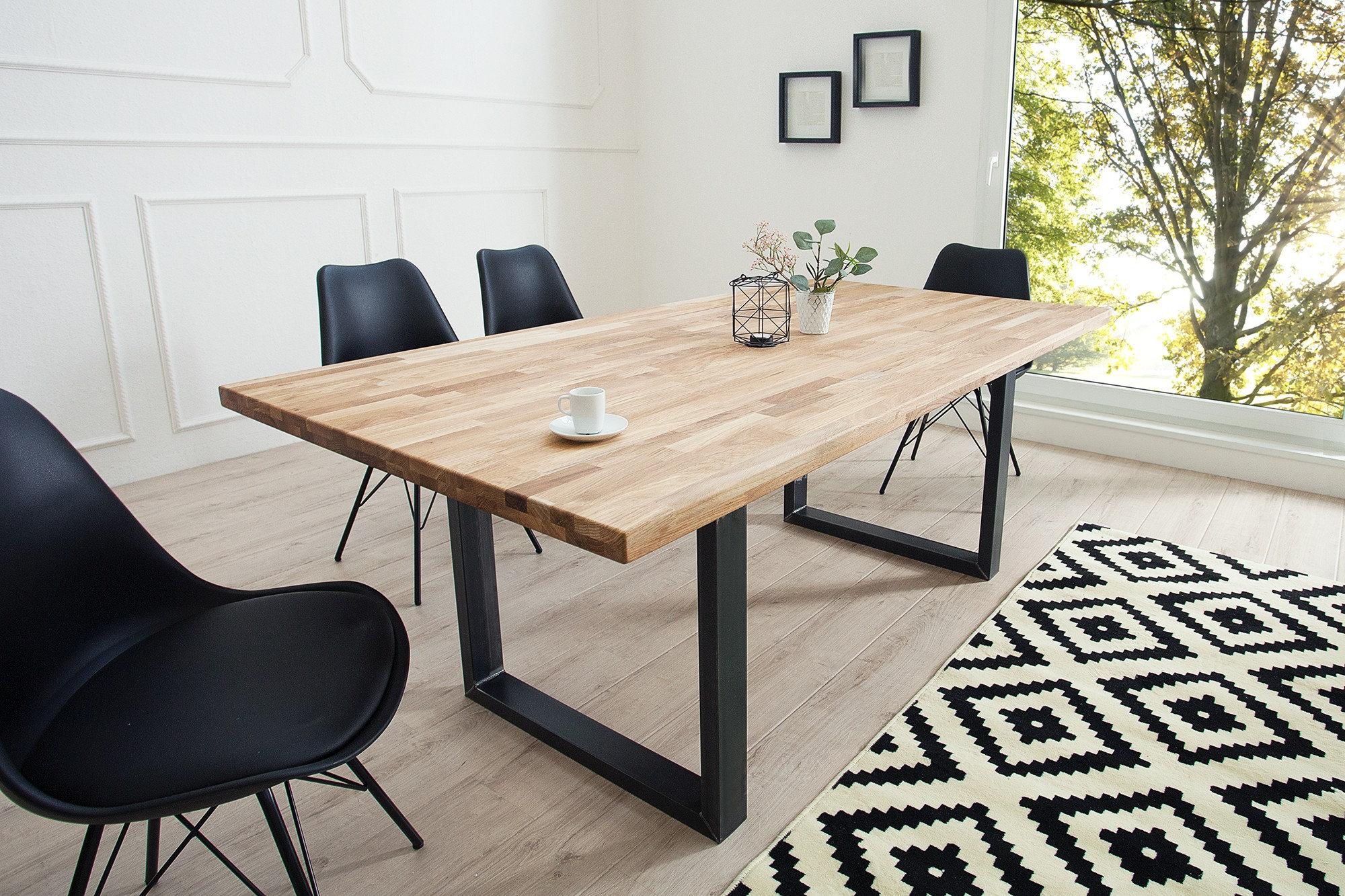 Mesa de Comedor Diseño industrial Ref Hallan (180x90x78) | anju