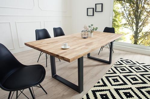 Mesa de Comedor Diseño industrial Ref Hallan (180x90x78)