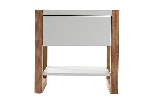 Mesa de noche diseño Moderno Ref: Armel (50X50X39)