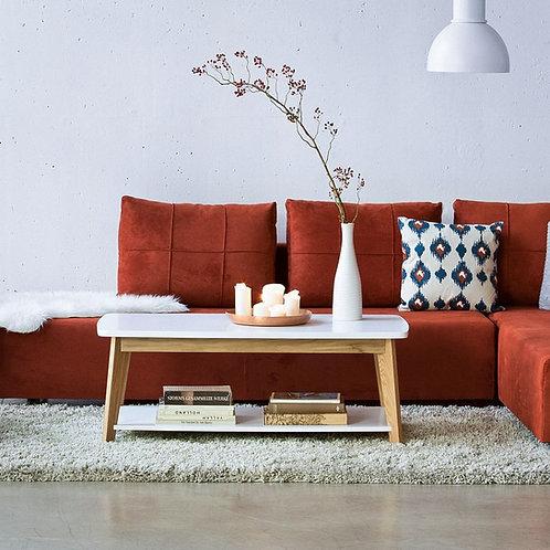 Mesa de Centro Diseño Lacado Ref: Kaury (110X60X40)