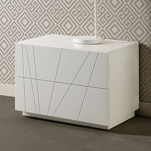 Mesa de Noche Diseño Minimalista Ref: Alessia (60X40X54)