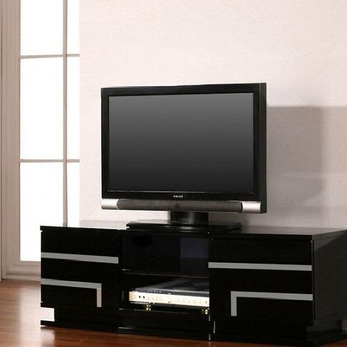 Mesa De Televisión Moderna Lacada Con Inox Ref: Acex (150X40X50)