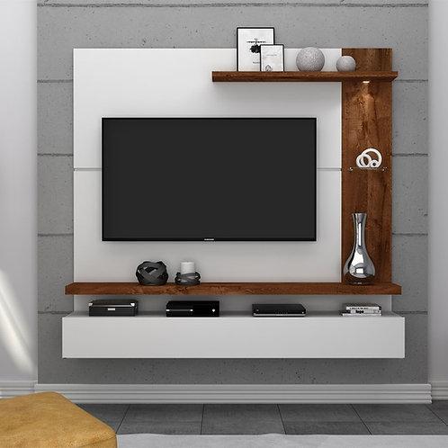 Panel para Tv Diseño Moderno con luz Ref: Tinoco (160x150x35)
