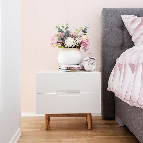 Mesa de noche Diseño Nordico Ref: Poaull (55x50x40)