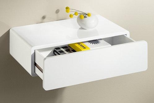 Mesa de Noche Flotante Diseño Minimalista Ref: Cassy (50x30x13)