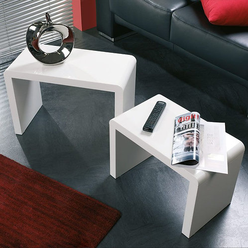 Mesa Auxiliar Diseño moderno minimalista Ref: Supernova (60x30X40)(50x35x30)