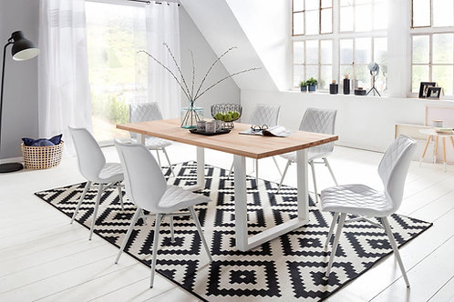 Mesa de comedor diseño Industral Ref: Duncan (180x90x78)