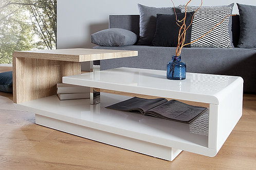 Mesas De Centro Diseño Moderno Ref: Ravel Plus (100X50X38)