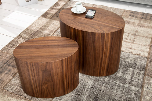 Mesa Auxiliar Diseño moderno minimalista  Ref: Torno Plus (55/40X35/25X40/35)
