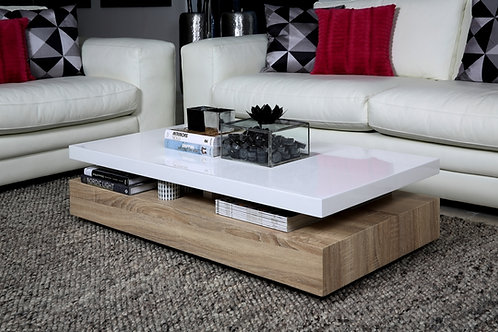 Mesa de Centro diseño Moderno Ref: Bois (110X55X34)