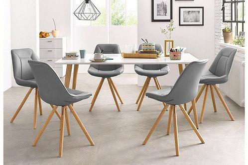 Mesa de Comedor Diseño nordico Ref: tottem (160x90x78)