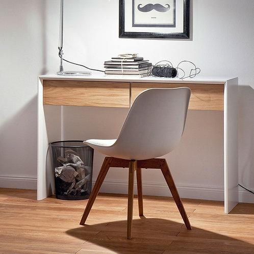 Consola  Diseño Moderno Blanco y Roble Ref: Amalfi (120x36x76)