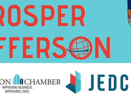 JEDCO, JEFFERSON CHAMBER TO HOST WEBINAR ON SMALL BUSINESS FINANCING A Prosper Jefferson Webinar