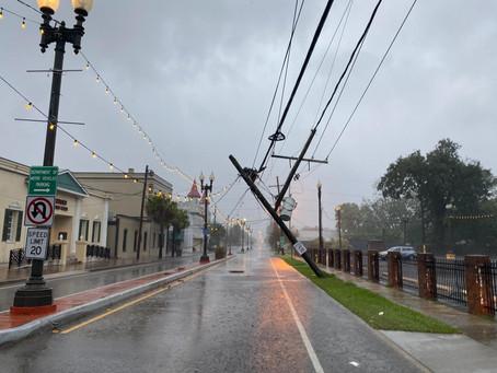 Hurricane Zeta update (Oct. 28 - 8:30pm)