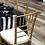 Thumbnail: Gold Chiavari Chairs w/cushions