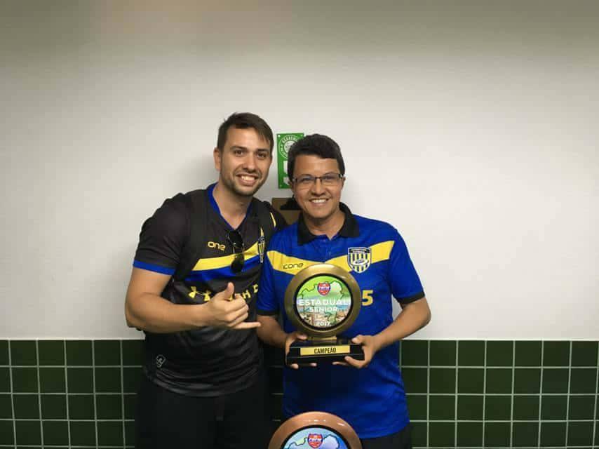 Luis Danilo - Campeão Estadual Senior 2017