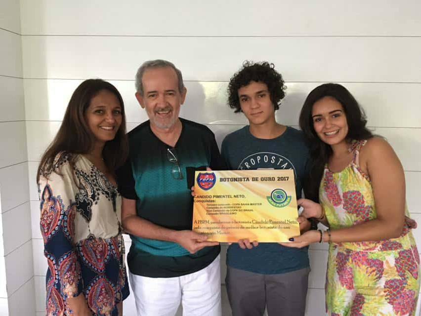 Pimentel - Botonista de Ouro Master 2017