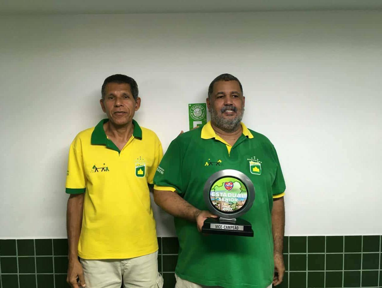 Afranio - Vice campeão estadual senior 2017