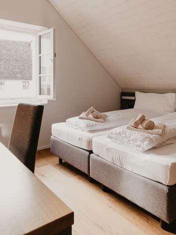 Doppelbett im Augarten
