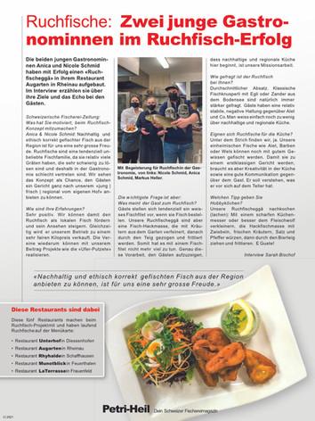 Schweizer Fischerzeitung März 2021