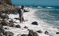 Pêche dans l'océan