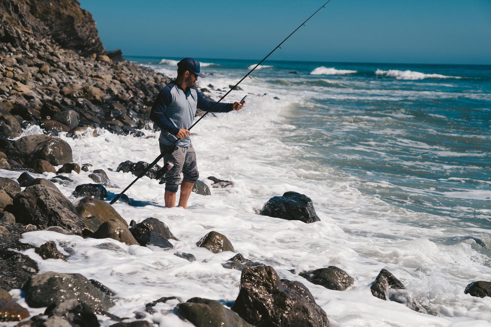釣魚的海洋