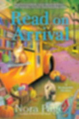 Read on Arrival, a Bookmobile Mystery by NoraPage