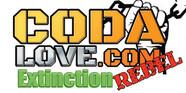 coda love logo in whit background for vi
