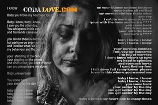 I know lyrics on woman crying.jpg
