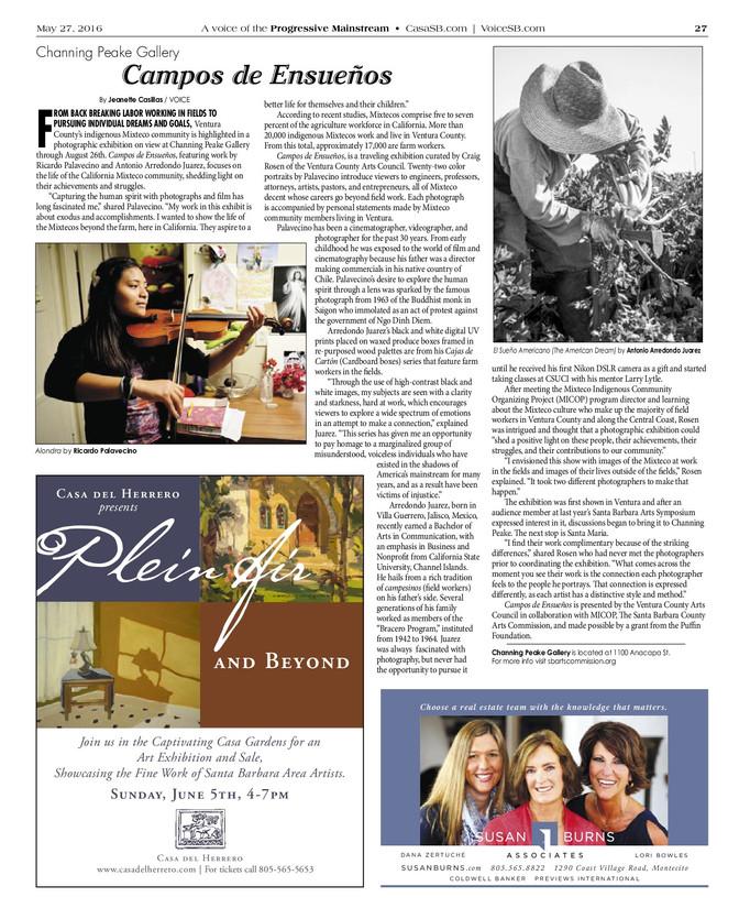 Voice Magazine / CASA