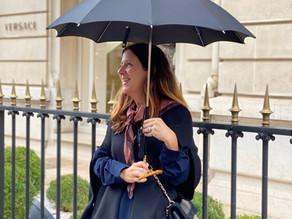 Les parapluies portés