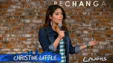 "Christine Little on ""Laughs"""