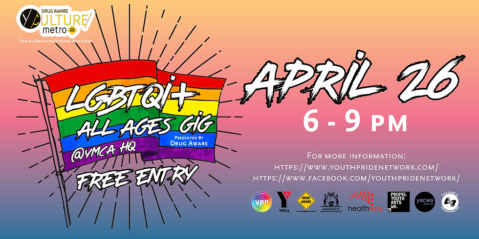 LGBTIQA+ All Ages Free Gig