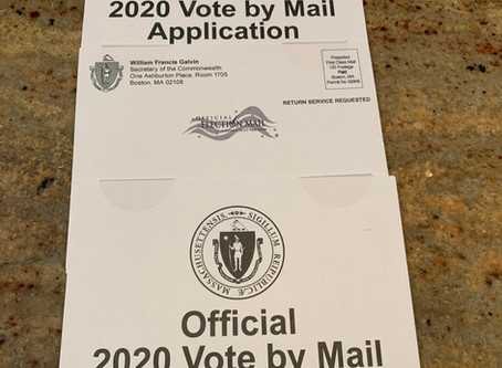 It is not too late to vote by mail - last date to request a vote by mail ballot is August 26th