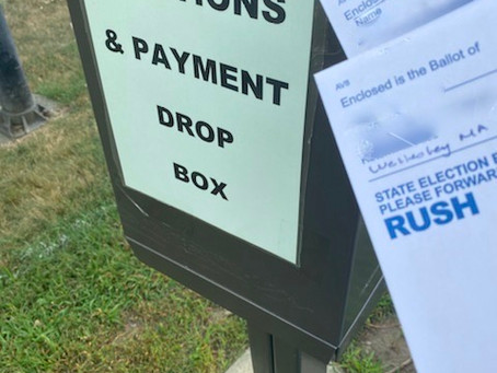 Local Ballots Require Postage!
