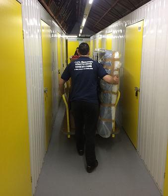 storage removal service
